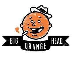 BIG ORANGE HEAD