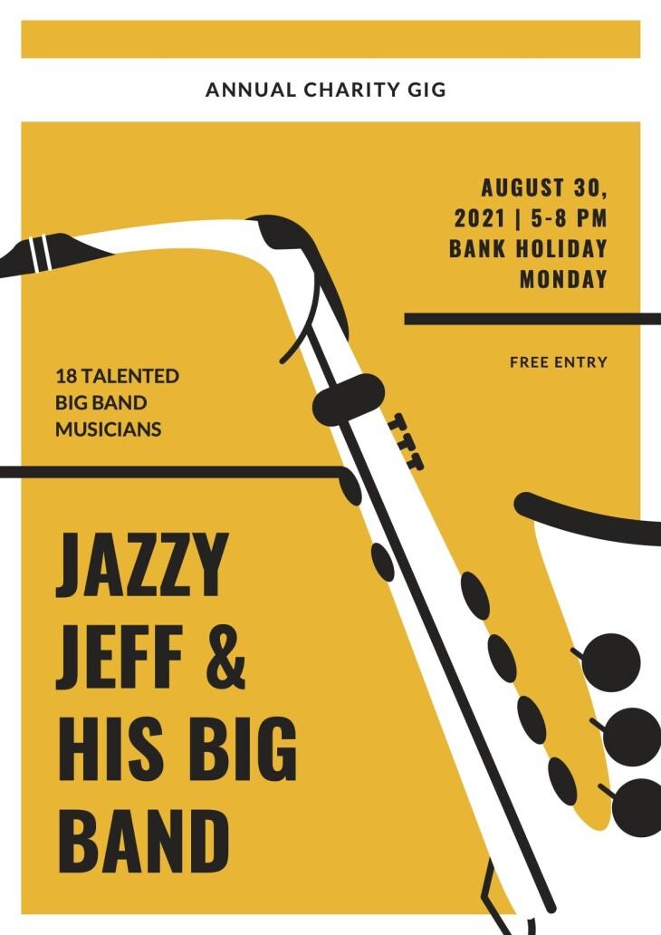 JAZZY JEFF'S-CHARITY BIG BAND GIG