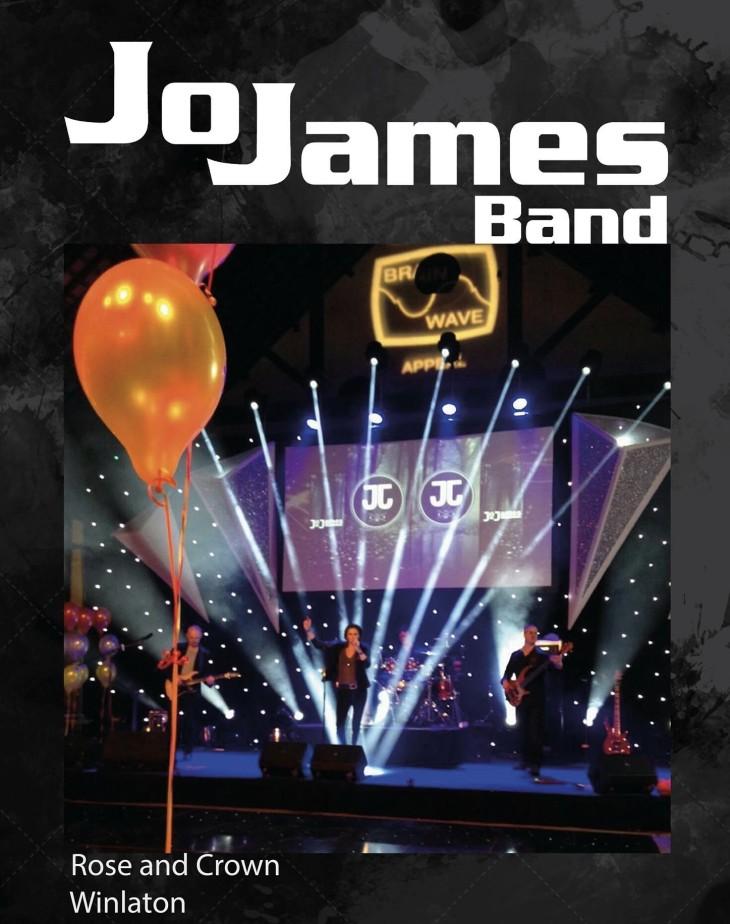 LIVE BAND NIGHT... 'JO JAMES BAND'