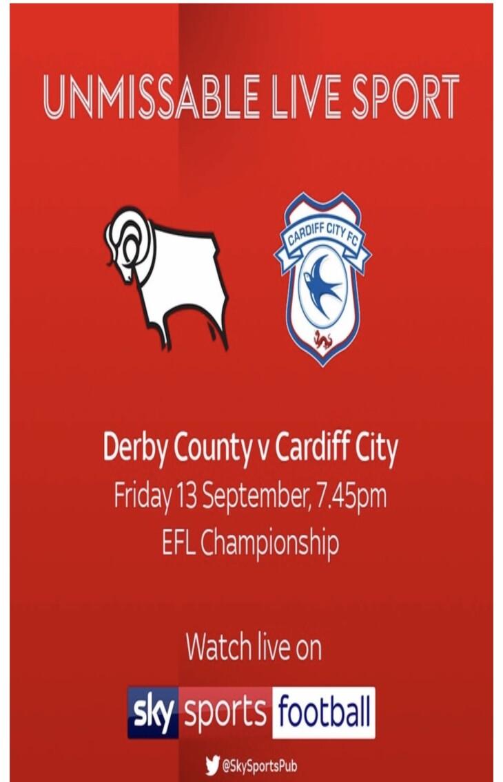 Derby v Cardiff