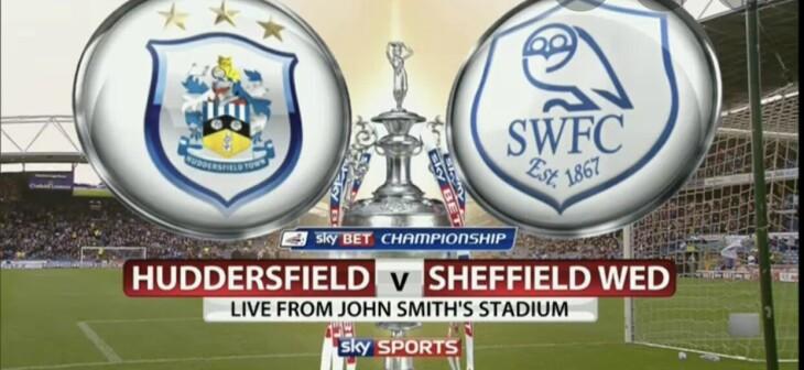Huddersfield town v Sheffield weds
