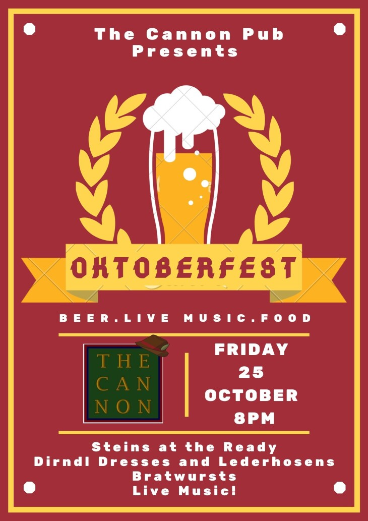 Oktoberfest - One Night Only!