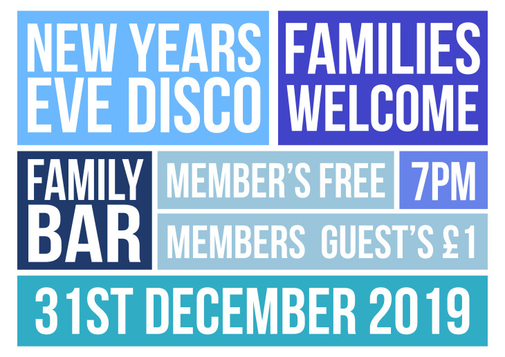 New Years Eve Family Disco