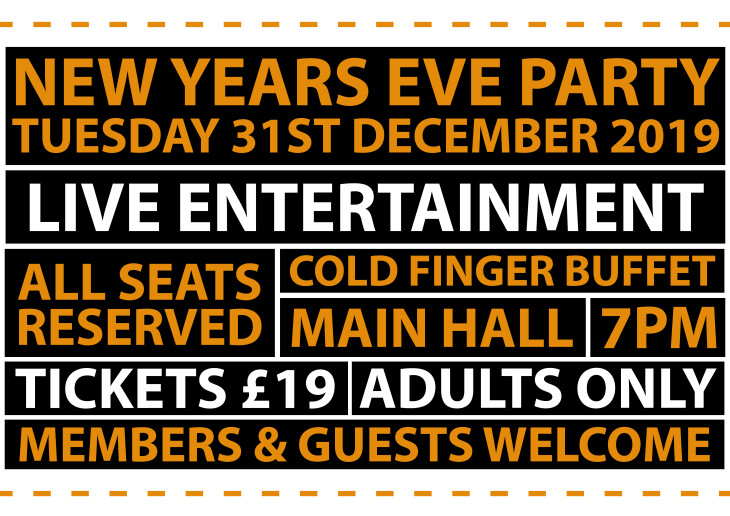 New Years Eve Party (Adults Only)