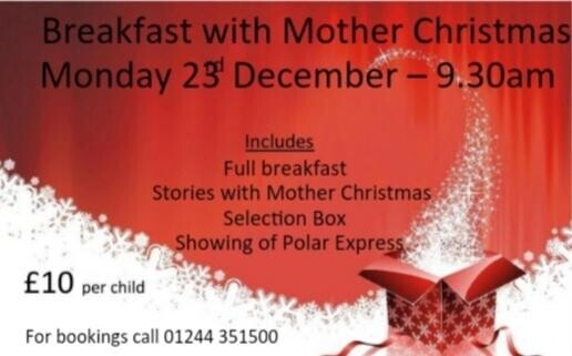 Breakfast with Mother Christmas