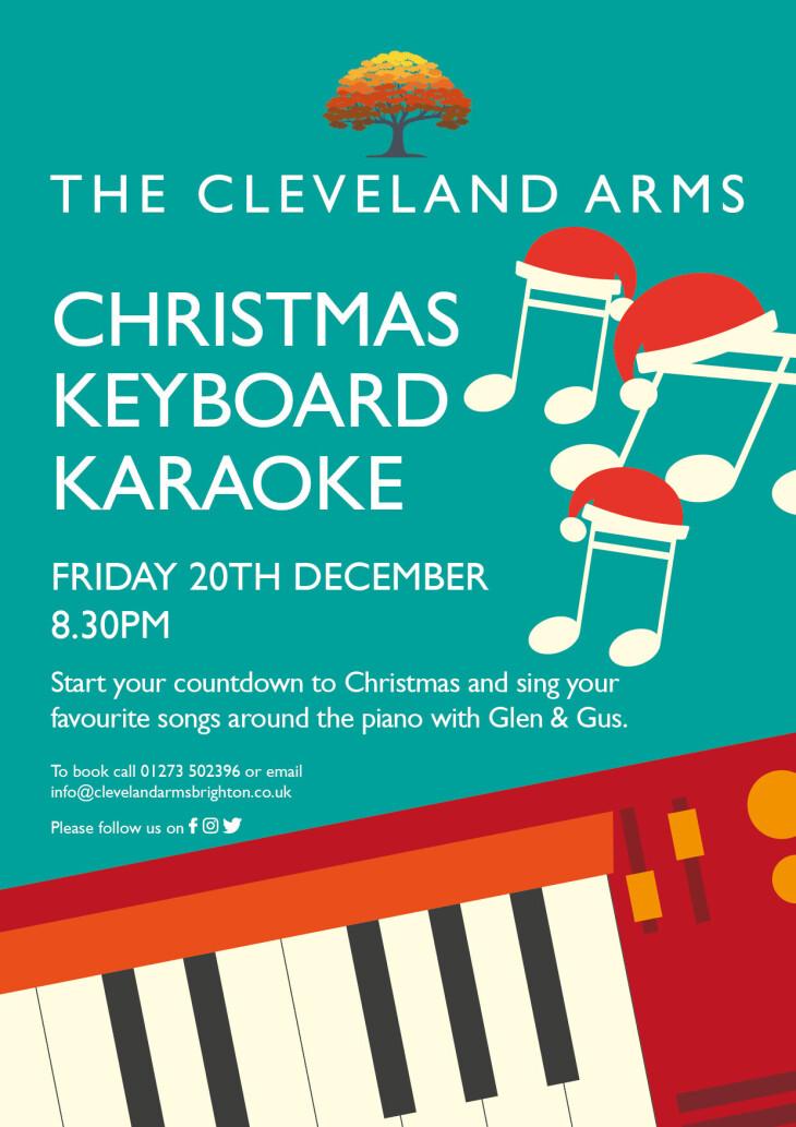 Christmas Keyboard Karaoke!!
