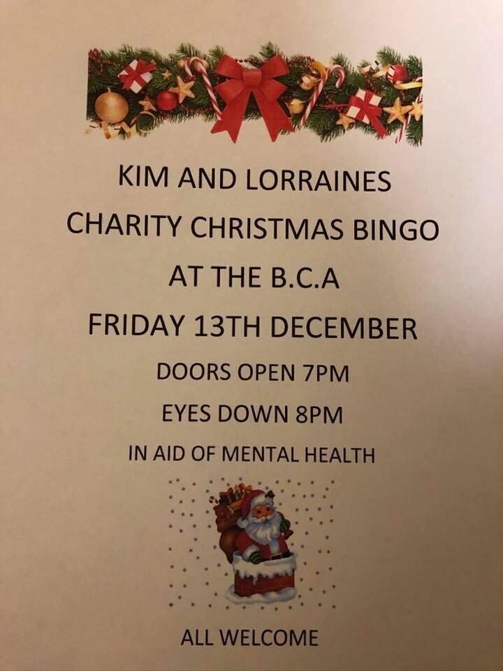 Kim & Lorraine's Charity Christmas Bin