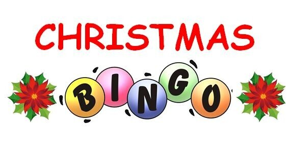 BCA Christmas Bingo