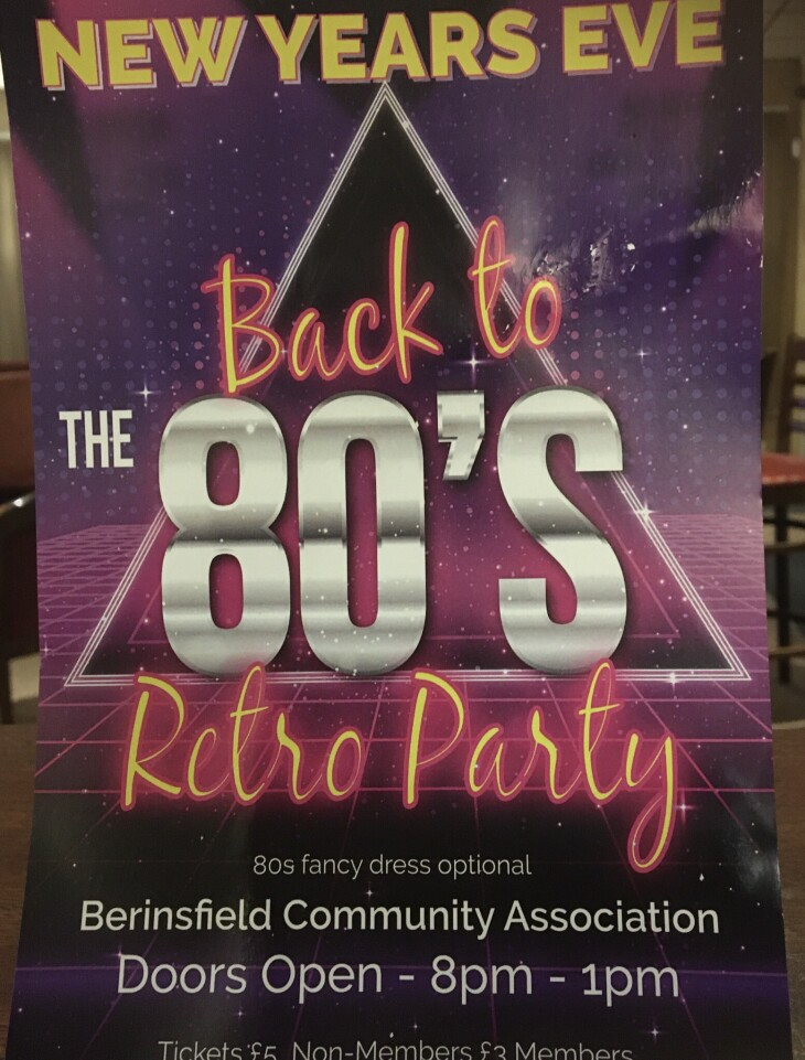 Back To The 80's Disco
