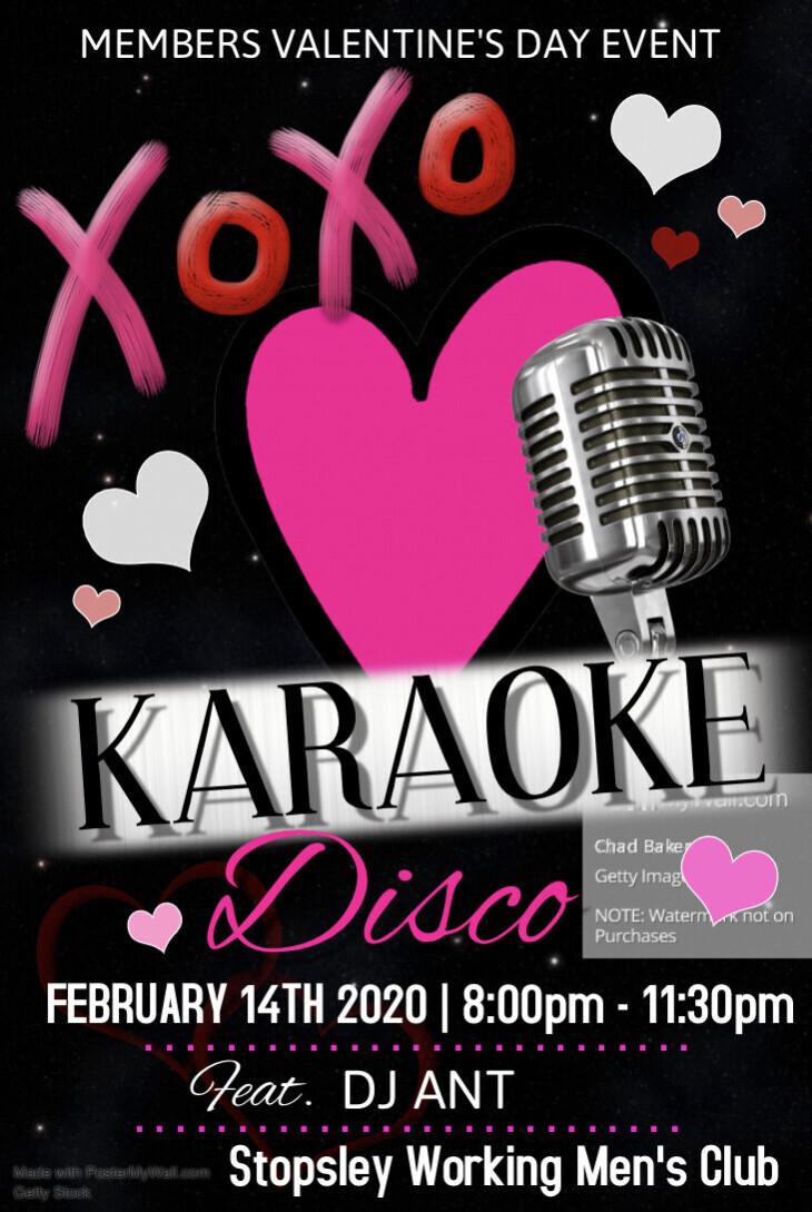 Valentine's Karaoke Disco