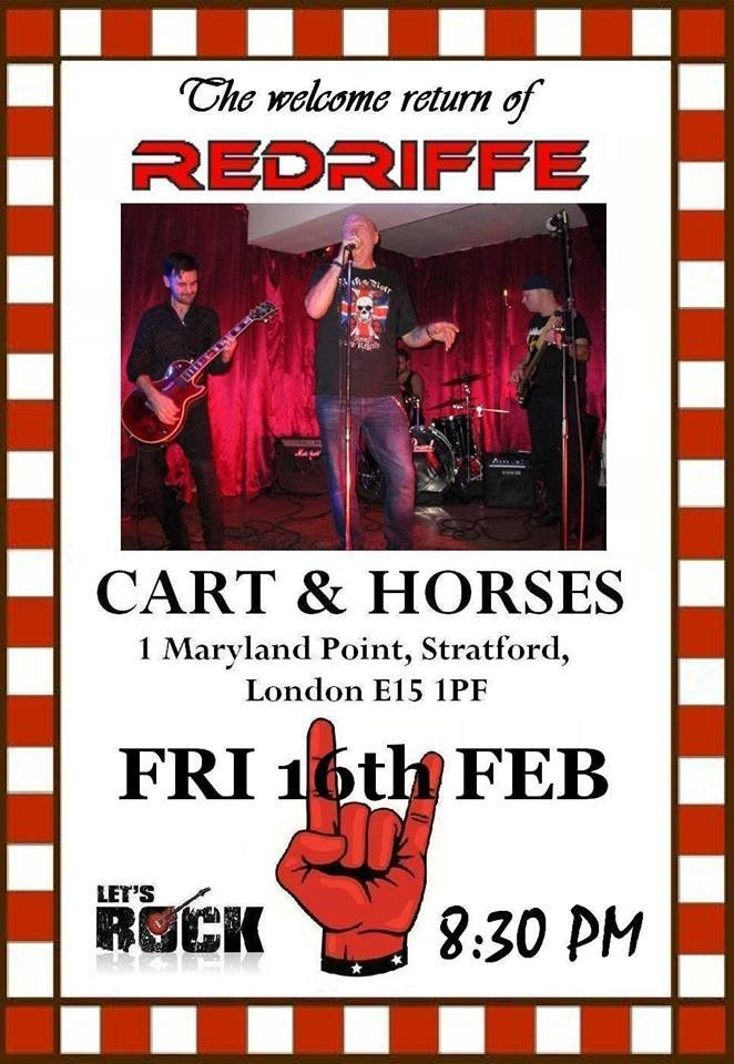 RedRiffe live at Cart & Horses