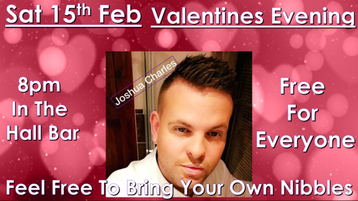 VALENTINES EVENT WITH JOSH CHARLES