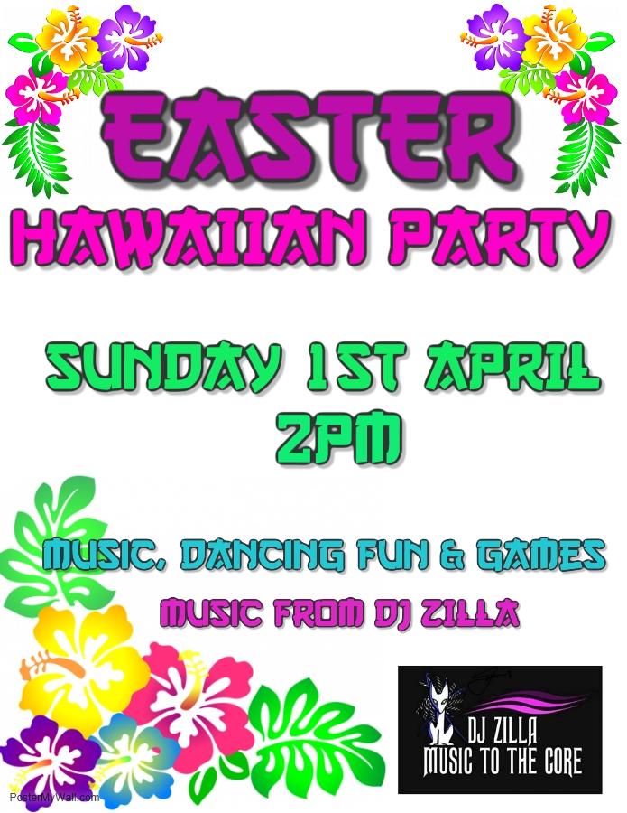 Easter Hawaiian Party