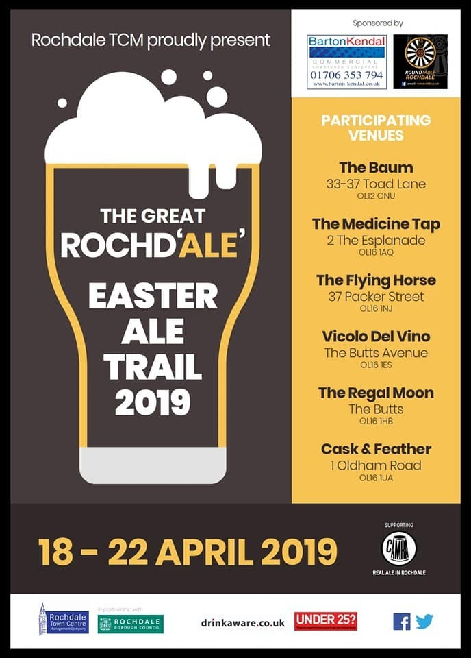 Easter Ale Trail 2019