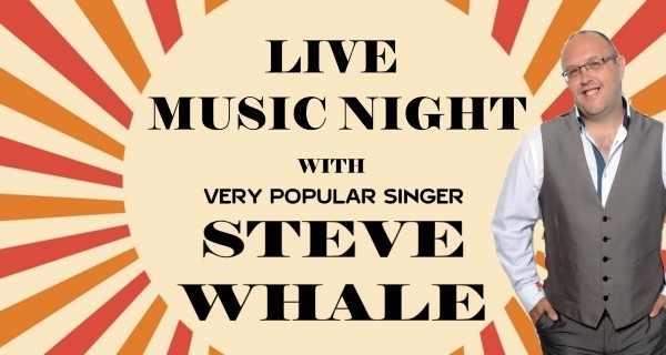 Live Music with Steve Whale