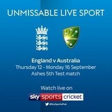 England v Australia