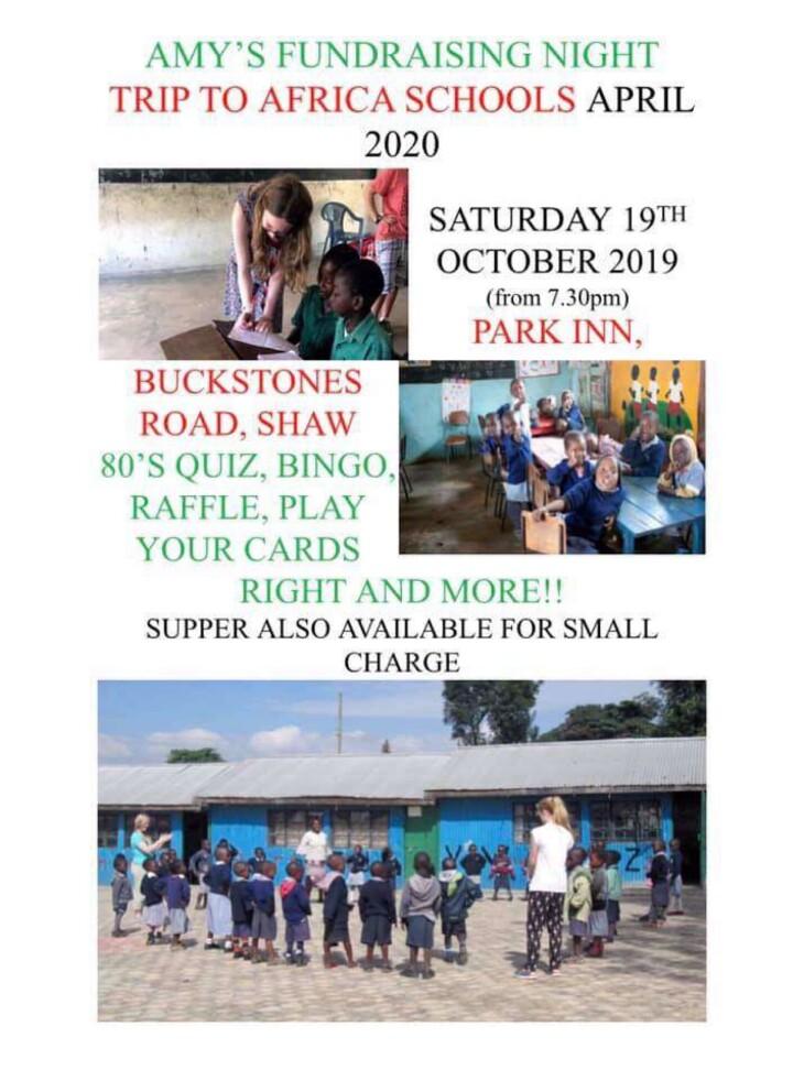 Kenya fundraising