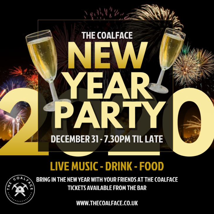 NYE Party at The Coalface