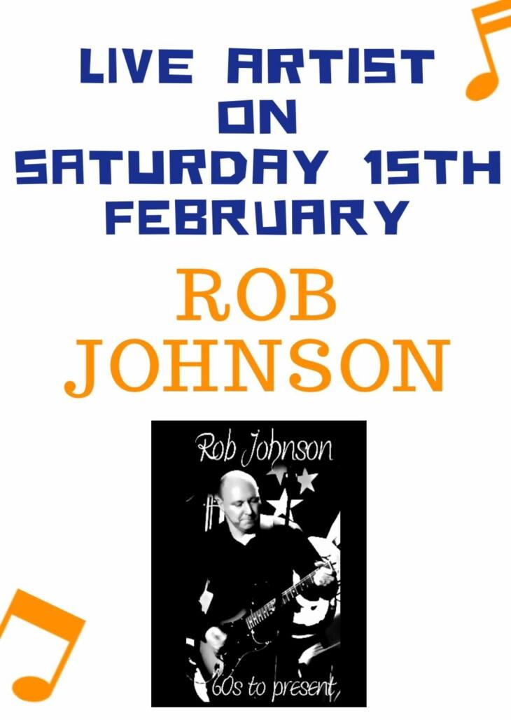 Live Artist Rob Johnson