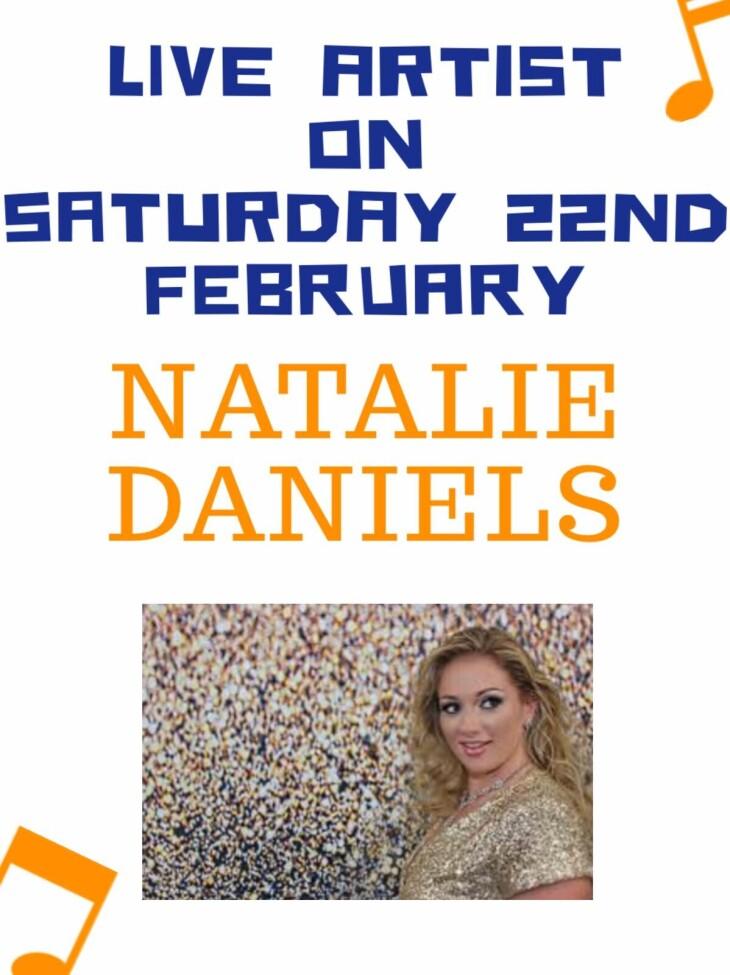 Live Artist Natalie Daniels