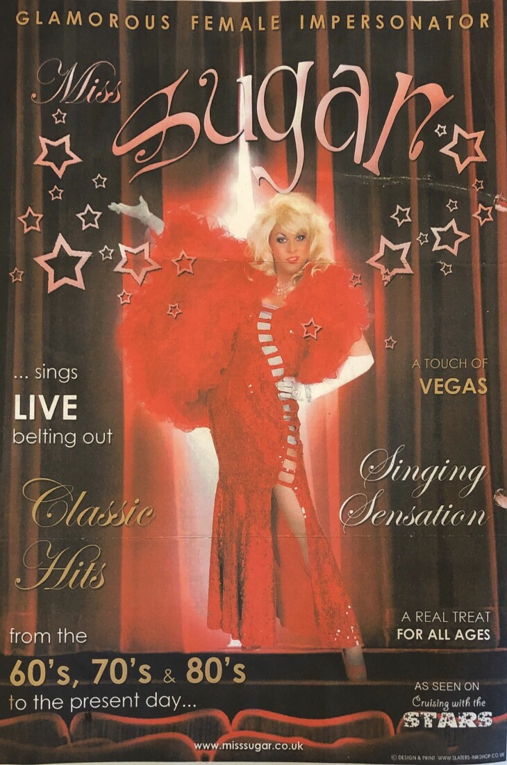 Miss Suger Glamorous Female Impersonar