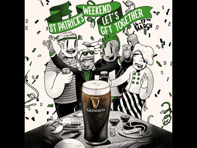 St Patricks Day - Sunday 17 March 2019