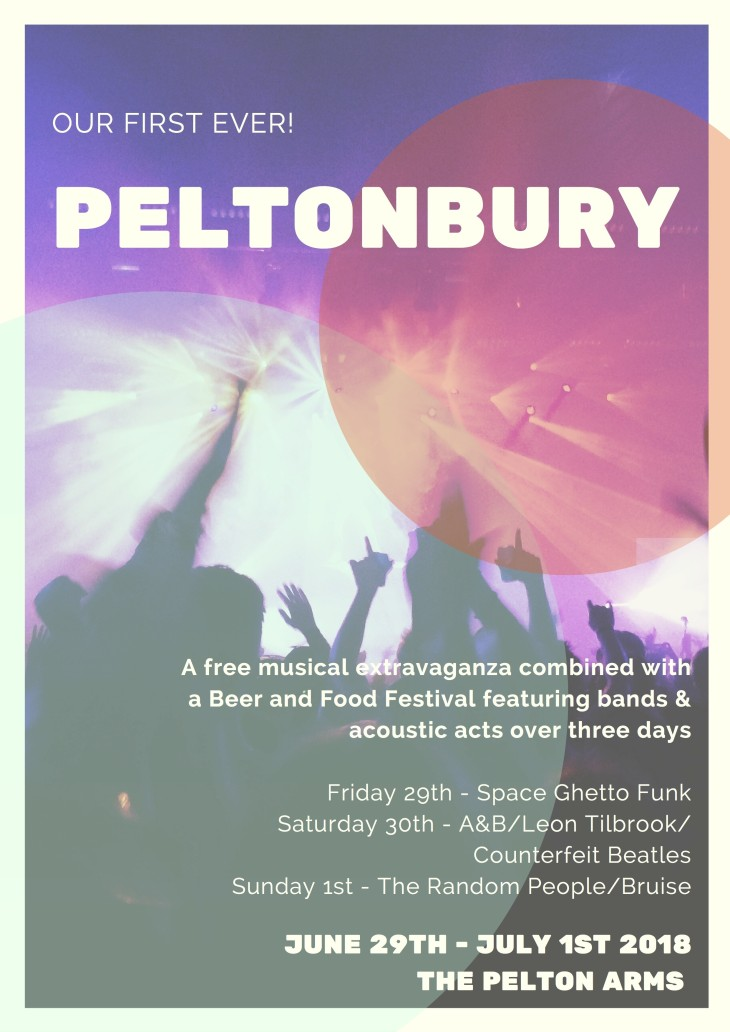 PELTONBURY MUSIC & BEER FESTIVAL