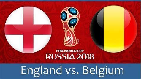 England vs Belgium.