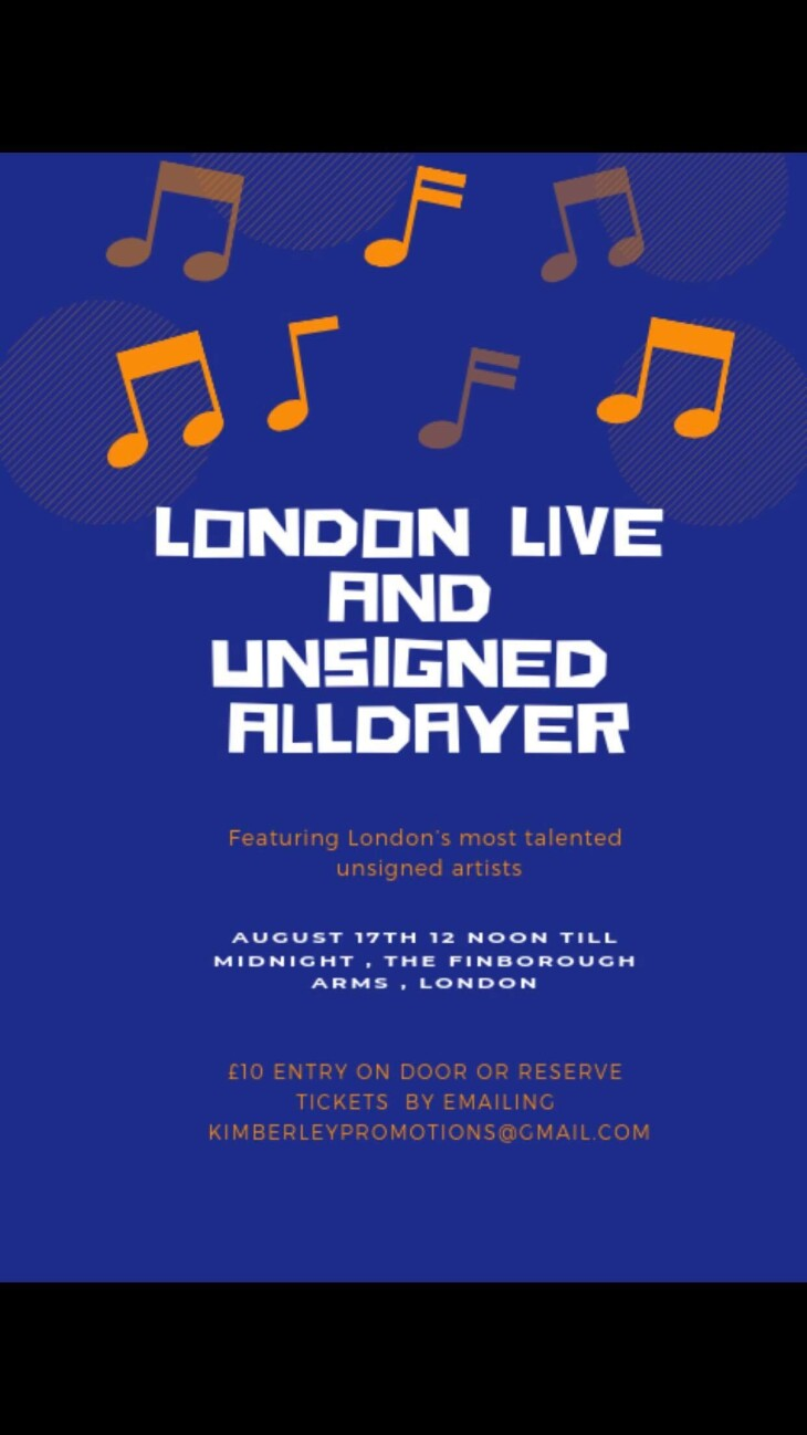 London Live & Unsigned All Dayer