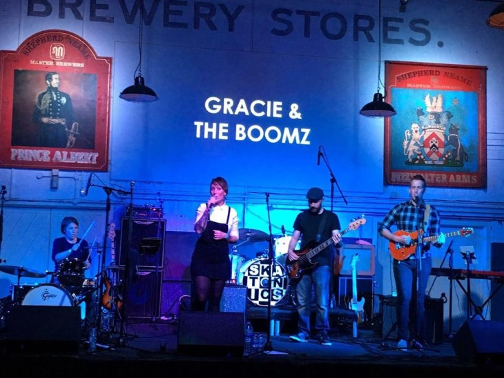 Gracie & the BOOMZ live at The Swan!