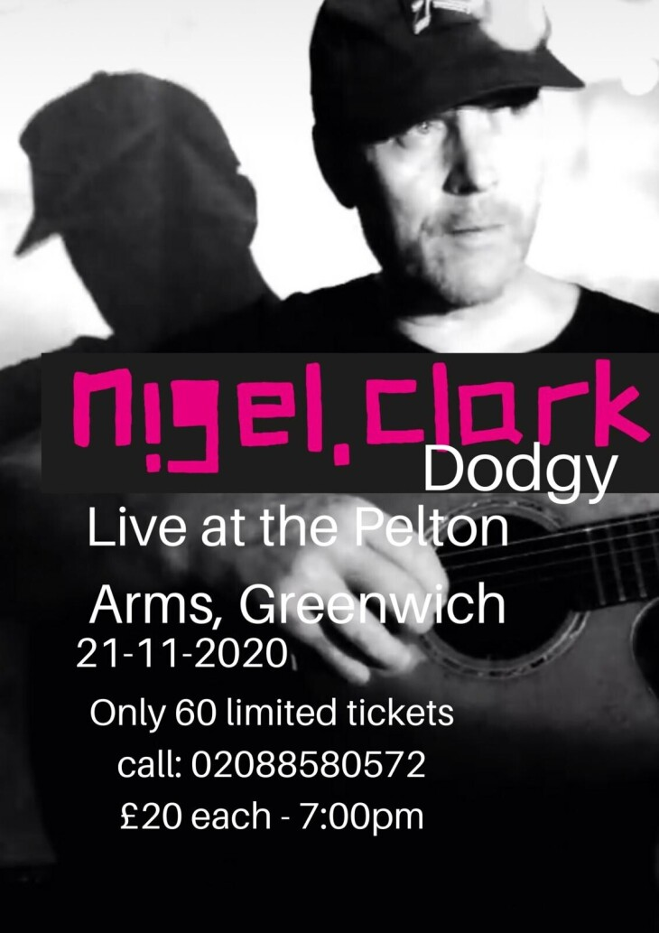 Nigel Clark from Dodgy.