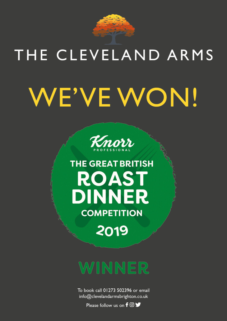 Award winning Sunday Roasts