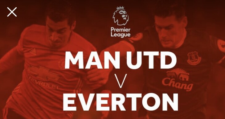 Man U v Everton