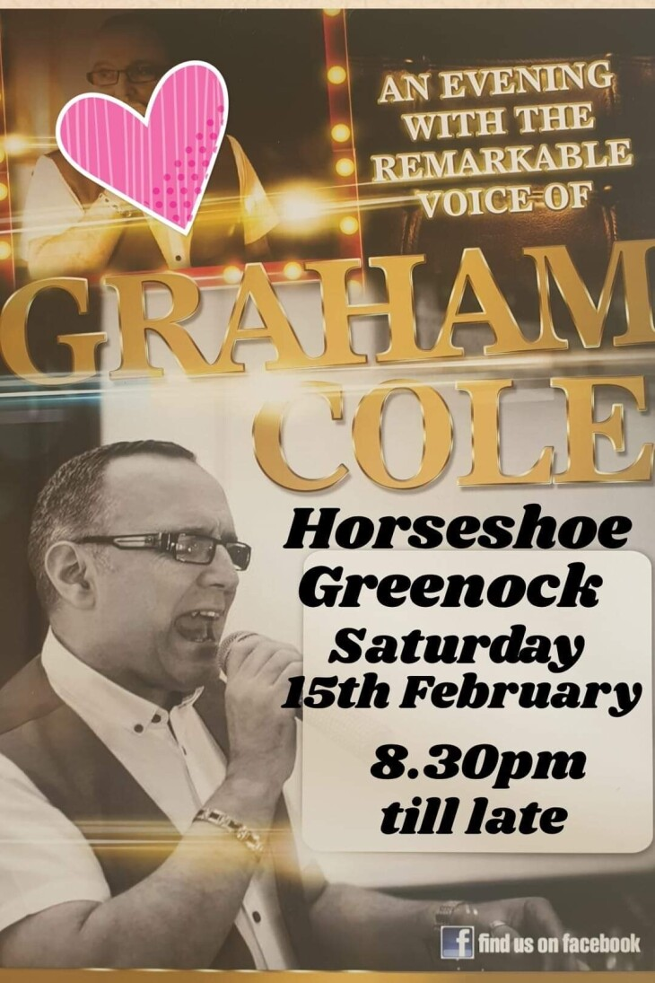 An evening with the talented Graham Co