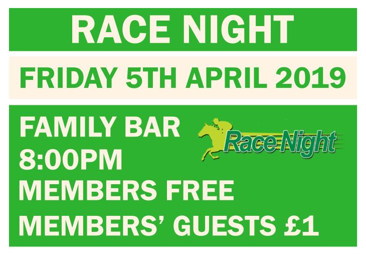RACE NIGHT!