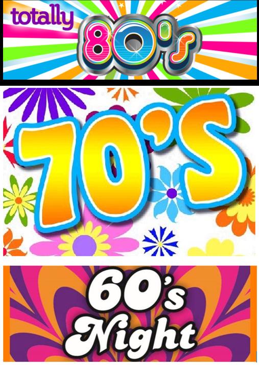 60's 70's & 80's Disco
