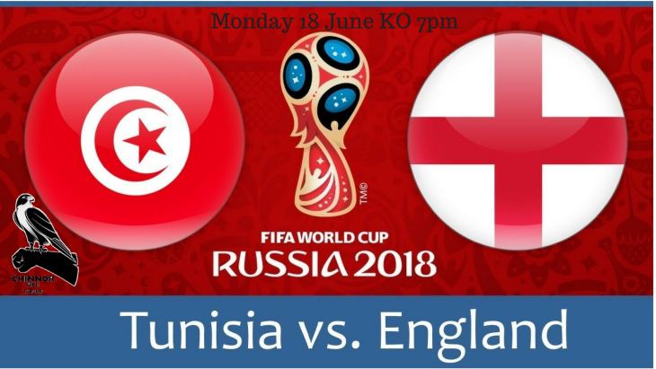World Cup England v Tunisia