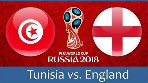 England vs Tunisia Monday 18th June.