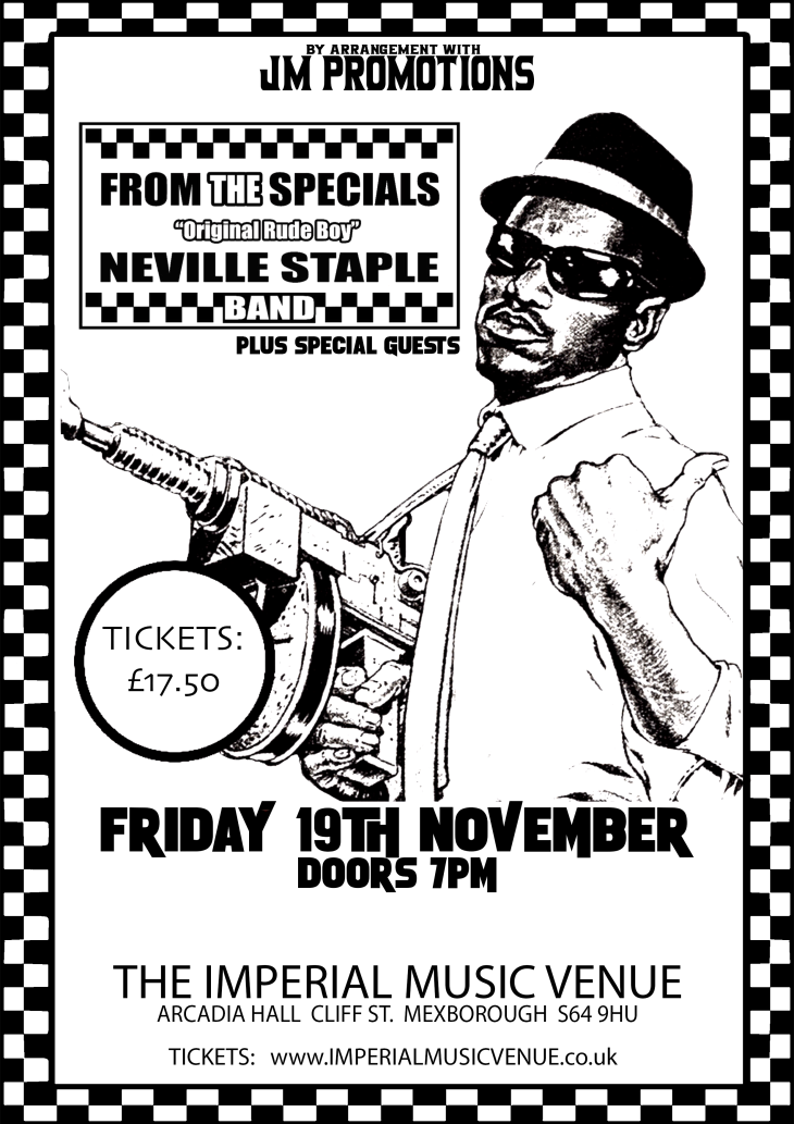 FROM THE SPECIALS:  NEVILE STAPLE BAND