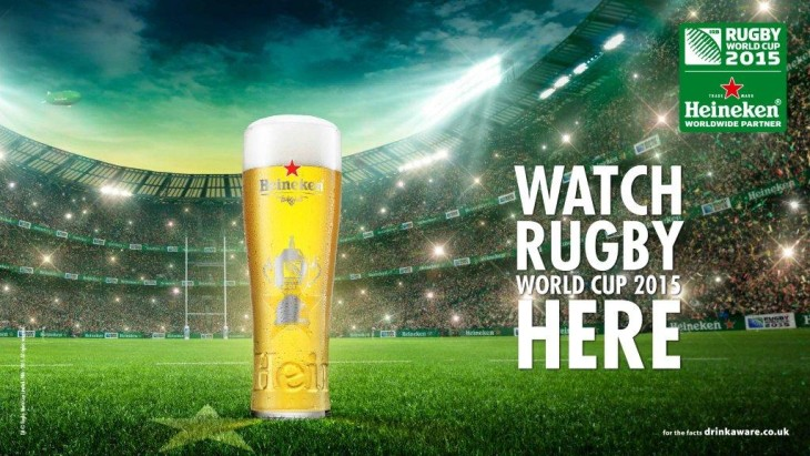 Come & watch live Rugby World Cup 2015