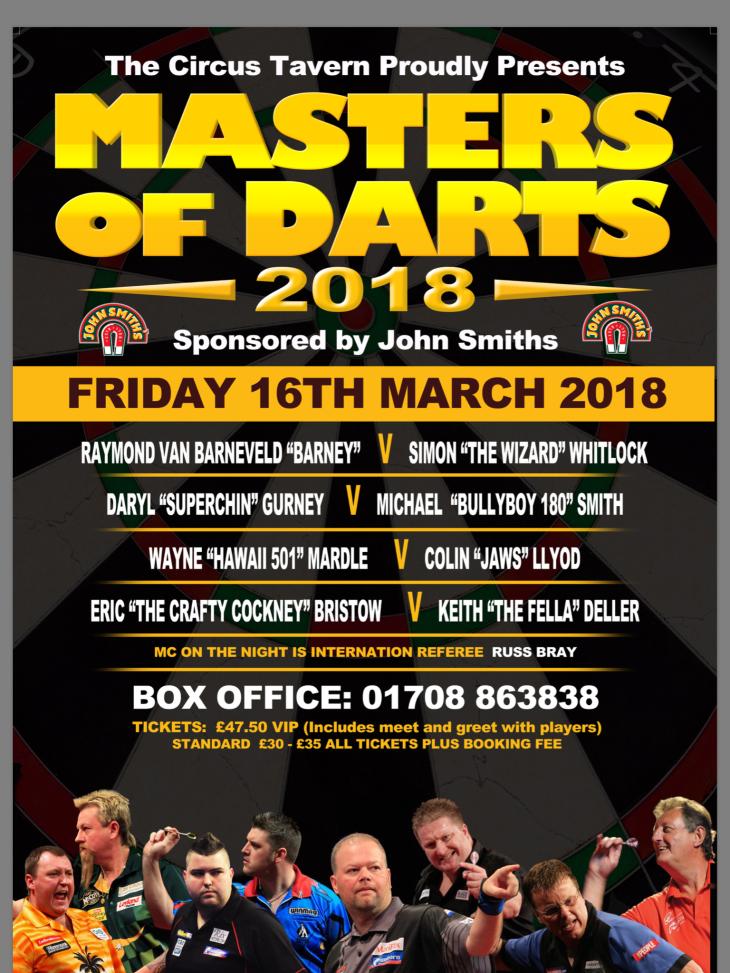 Master of Darts 2018