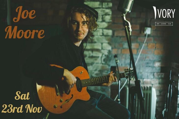 Joe Moore live at Ivory Sat 23rd Nov