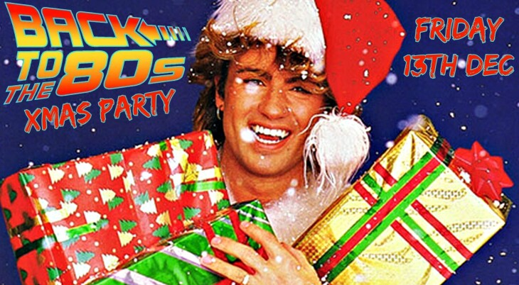 BACK 2 THE 80S XMAS SHINDIG