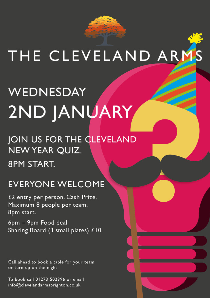 New Year Quiz Night!!