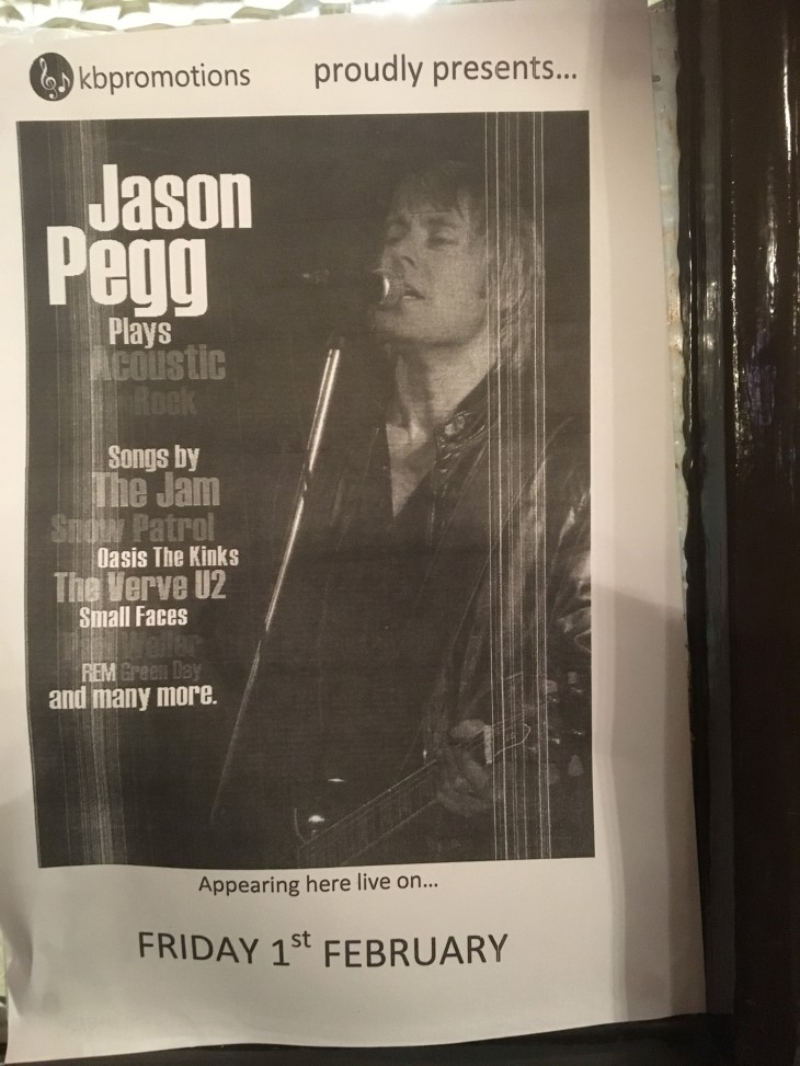 Jason Pegg - MEMBERS DRAW