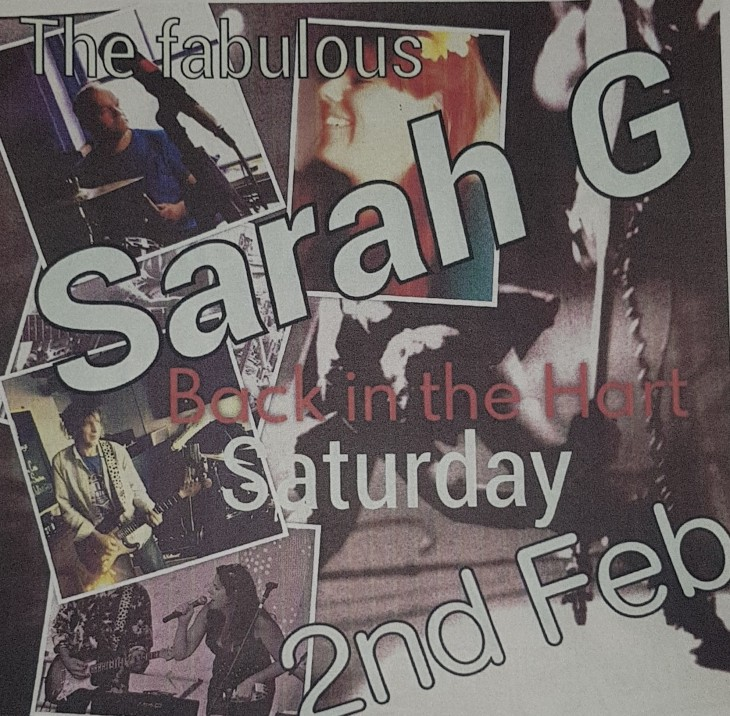 Live Music Saturday 2nd February