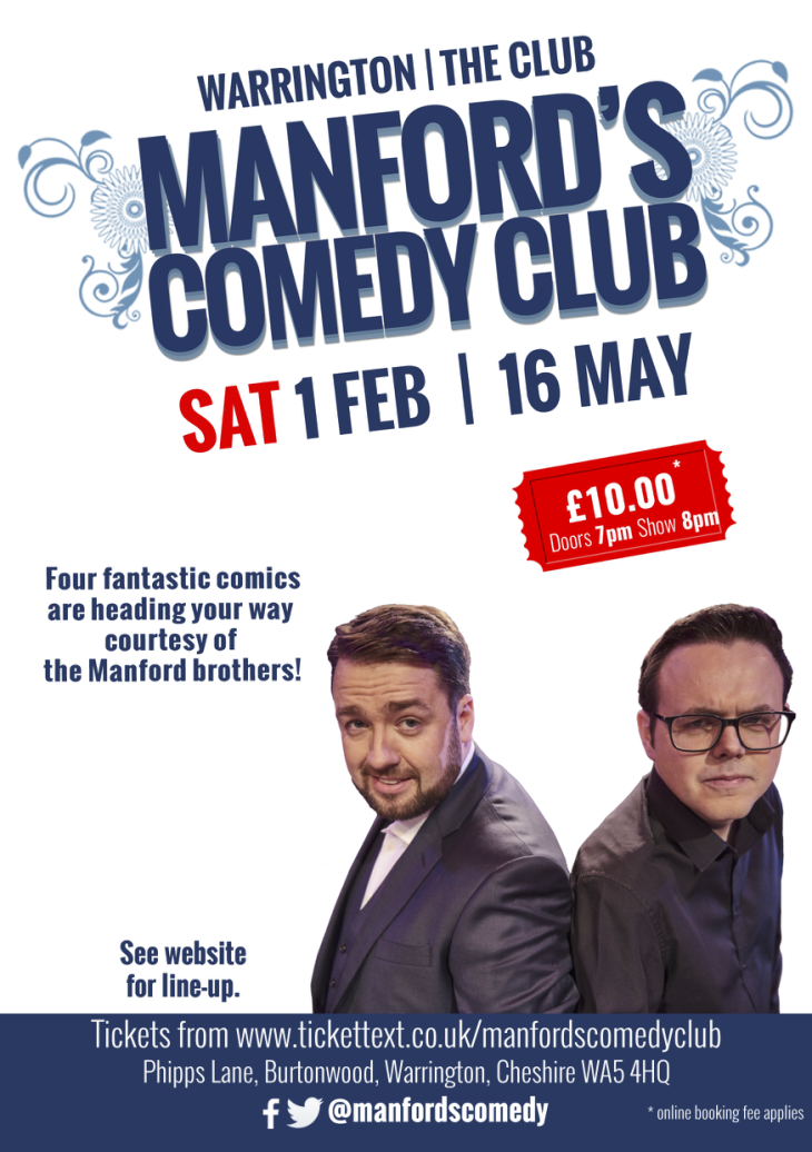 Manford's Comedy Club Warrington