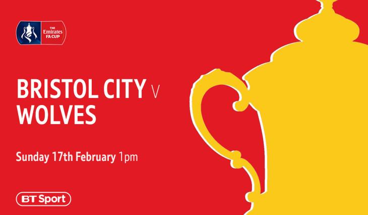 Emirates FA Cup Bristol City vs Wolves