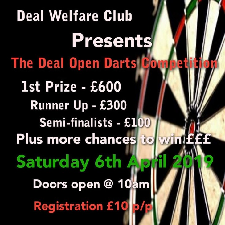 Deal Open Darts Competition