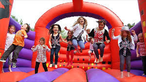 Bouncy Castle and Brick Oven Pizza